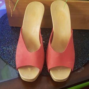 Candies/ Candies Vintage peep toe heel